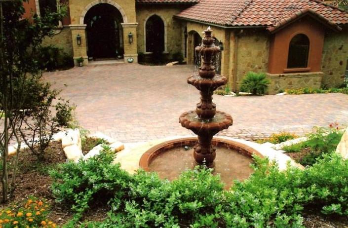 Fountain terraces